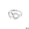 anillo simbolo infinito en plata 925
