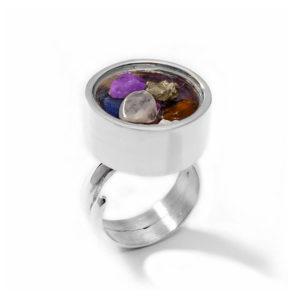 anillo siete chakras