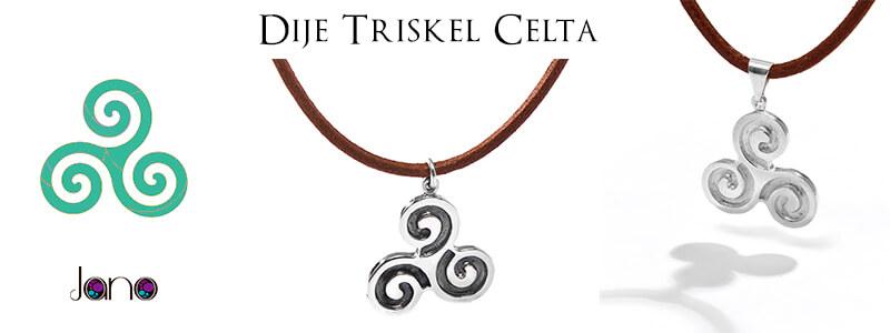 dije triskel celta jano banner Dije Triskel Celta