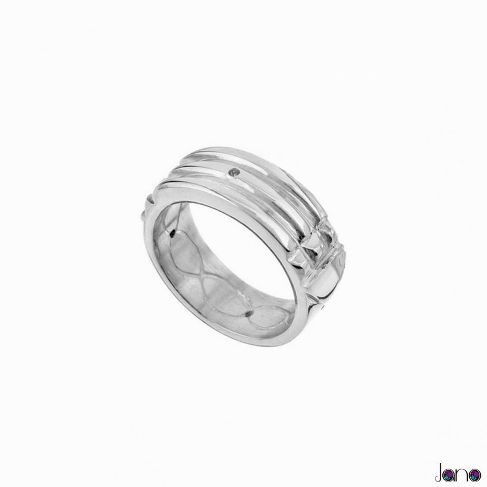 anillo atlante original de plata