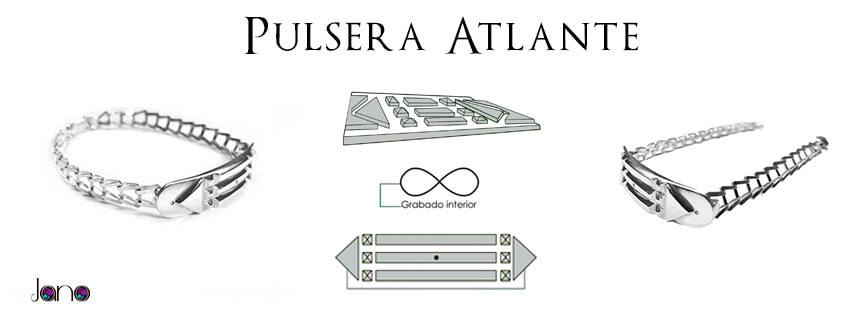 pulsera atlante cdadena jano banner Pulsera Atlante plata con cadena